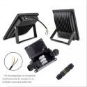 Proiector LED 30W cu senzor de miscare, Alb Rece