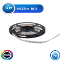 Banda LED RGB 14,4W/M IP20
