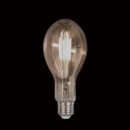 Bec LED Vintage Dimabil 8W E27 D110 2800-3200K Sticla Fumurie