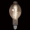 Bec LED Vintage Dimabil 8W E27 D120 2800-3200K Sticla Fumurie