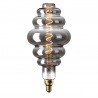 Bec LED Vintage Dimabil 5W E27 D130 2800-3200K Sticla Fumurie