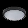 Aplica LED Rotunda 12W NEGRU IP54