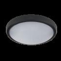 Aplica LED Ovala 12W NEGRU IP54