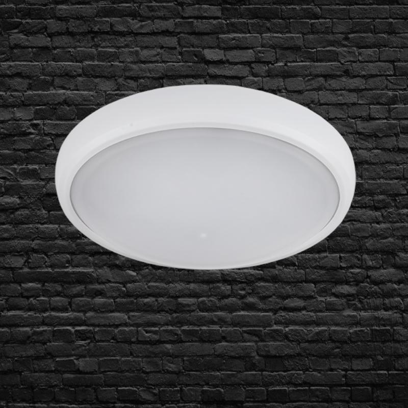 Aplica LED Ovala 12W ALB IP54