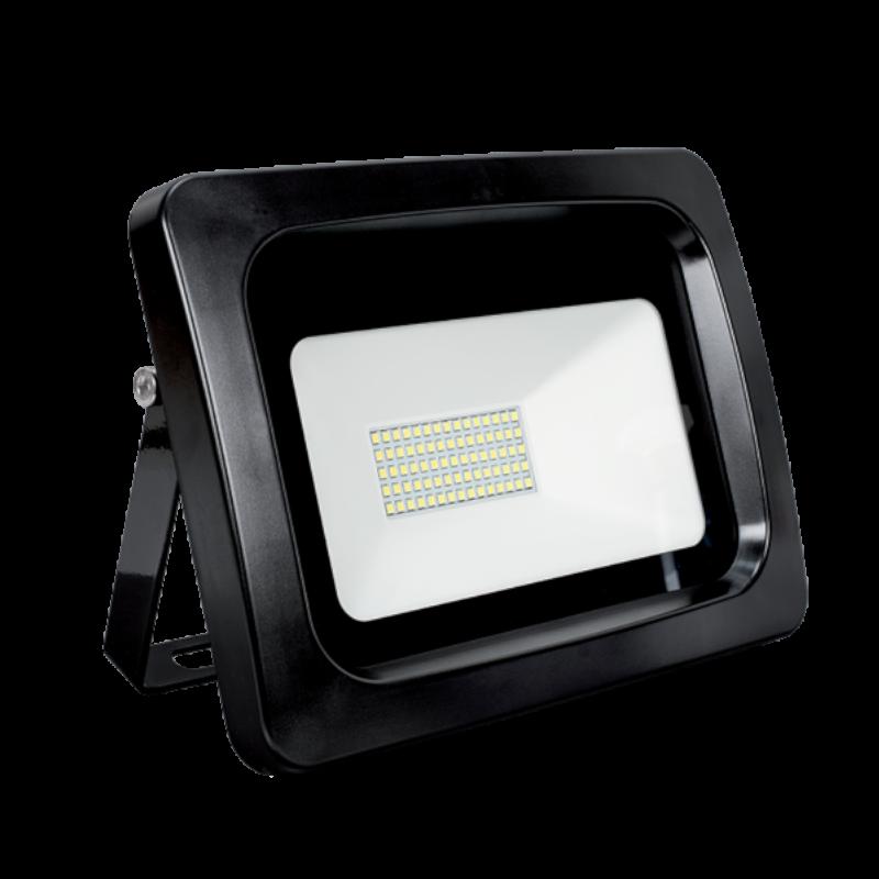 Proiector LED 30W Negru VEGA SLIM, Alb Rece