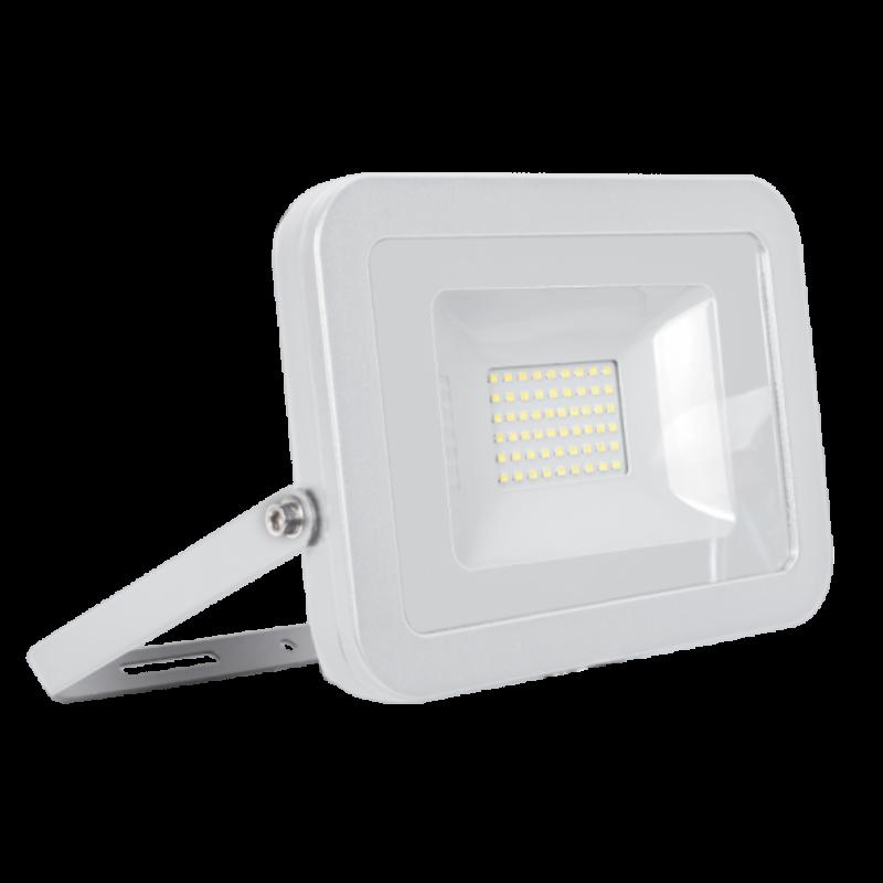 Proiector LED 50W Alb, VEGA SLIM, Alb Natural
