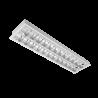 Corp de iluminat cu tuburi LED(60cm) 2X9W 6400K BM 30/600 Cu Kit de Emergenta