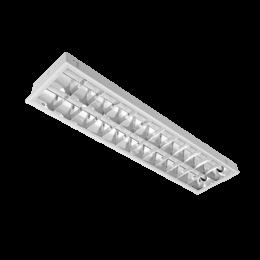 Corp de iluminat cu tuburi LED(120cm) 2X18W 4000K Cu Kit de Emergenta