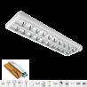 Corp de iluminat cu tuburi LED(1200mm) 2X18W 6400K OM 1195/295 Cu Kit de Emergenta
