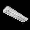 Corp de iluminat cu tuburi LED TUBE(1200mm) 2X18W 6200K OM 1200/300