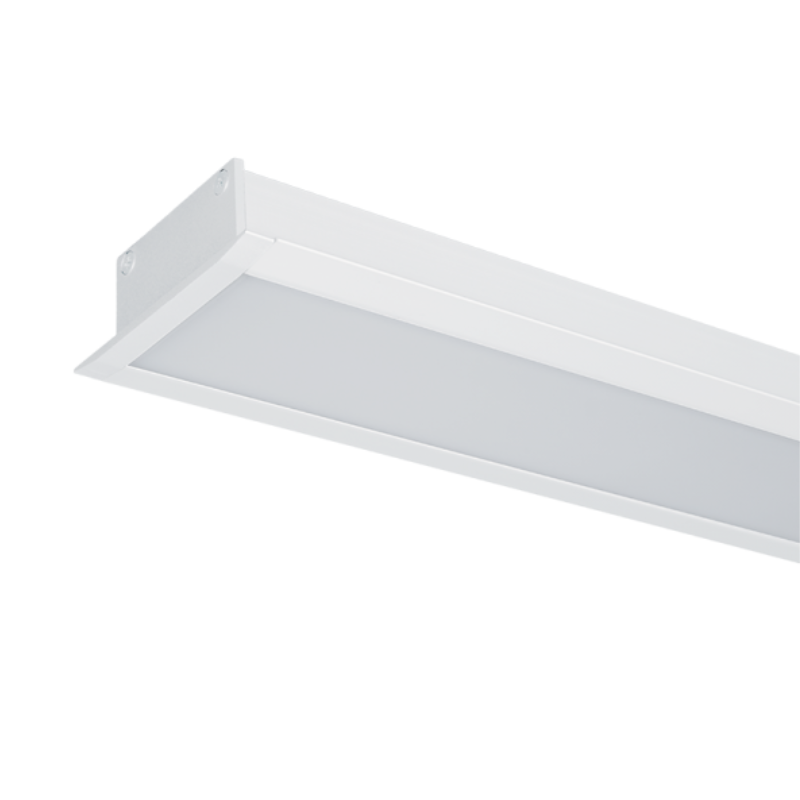 Profil LED Incastrat S48 12W 4000K 600mm ALB