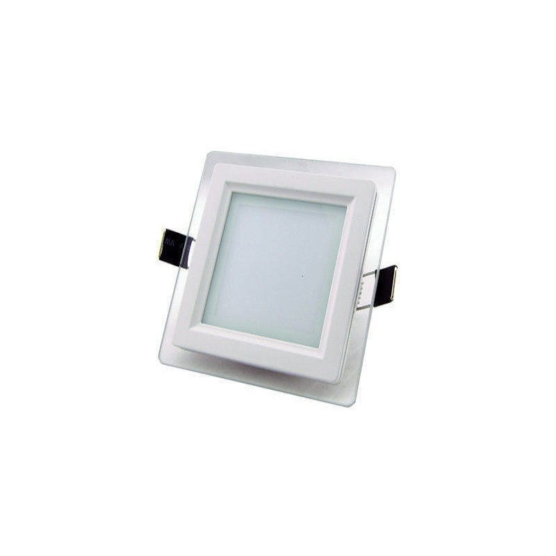 Spot LED Incastrabil 18W 4000K model patrat cu sticla