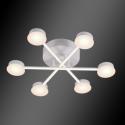 Lustra Living LED Azzar 66W/ 3000K Alb Mat
