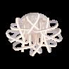 Corp iluminat living LED 192W/ 5000K Alb Mat