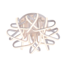 Corp iluminat living LED 192W/ 3000K Alb Mat
