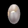 Aplica Perete LED SHELL 5W/ 4000K Argintiu