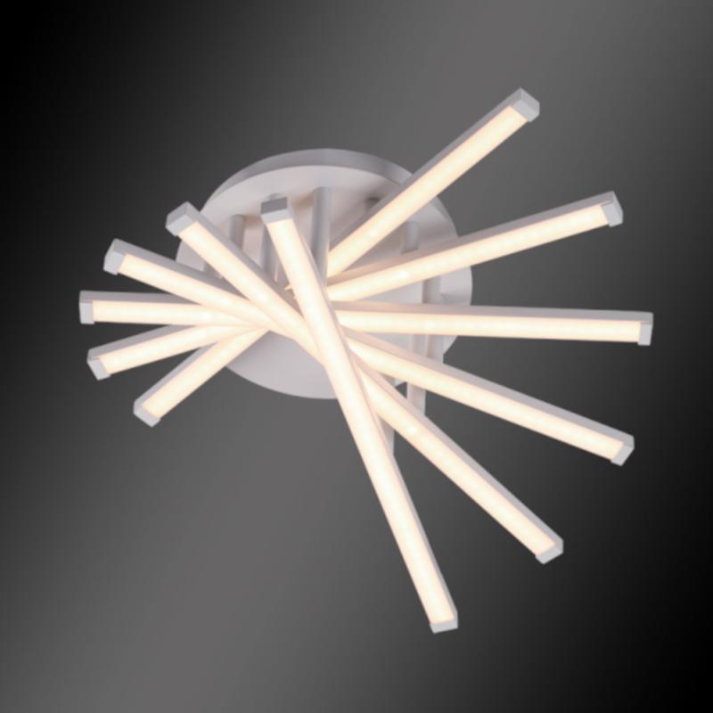 Lustra LED JOSEY 48W/ 5000K Alb Mat
