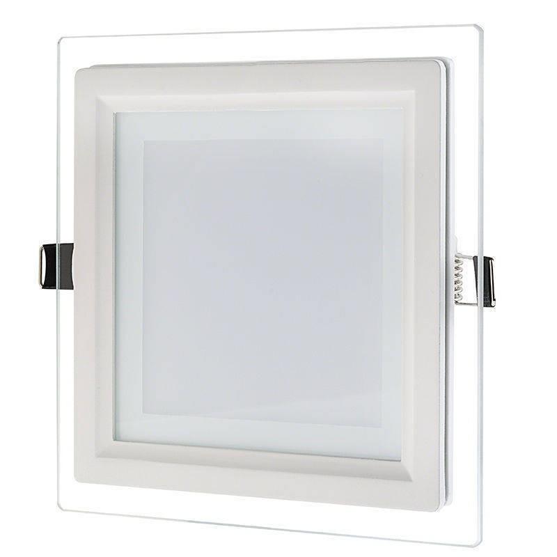 Spot LED 18W cu sticla Patrat