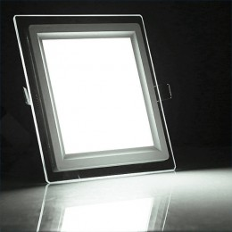 Panou LED Patrat + Sticla...