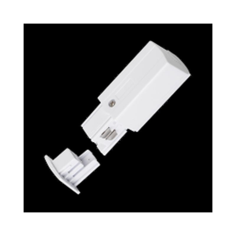 Adaptor Alimentare Sina Spoturi LED 4 linii,Negru