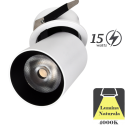 Spot LED Incastrat 15W Negru sau Alb