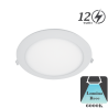 Spot LED Tavan 12W Lumina Rece D167x18mm