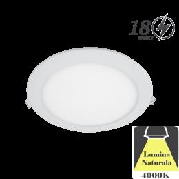 Spot LED Tavan Incastrabil 18W Lumina Naturala D225mm