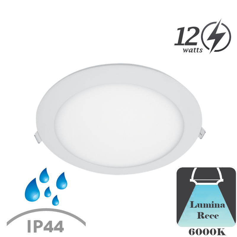 Spot LED Tavan Baie 12W Lumina Neutra/Rece