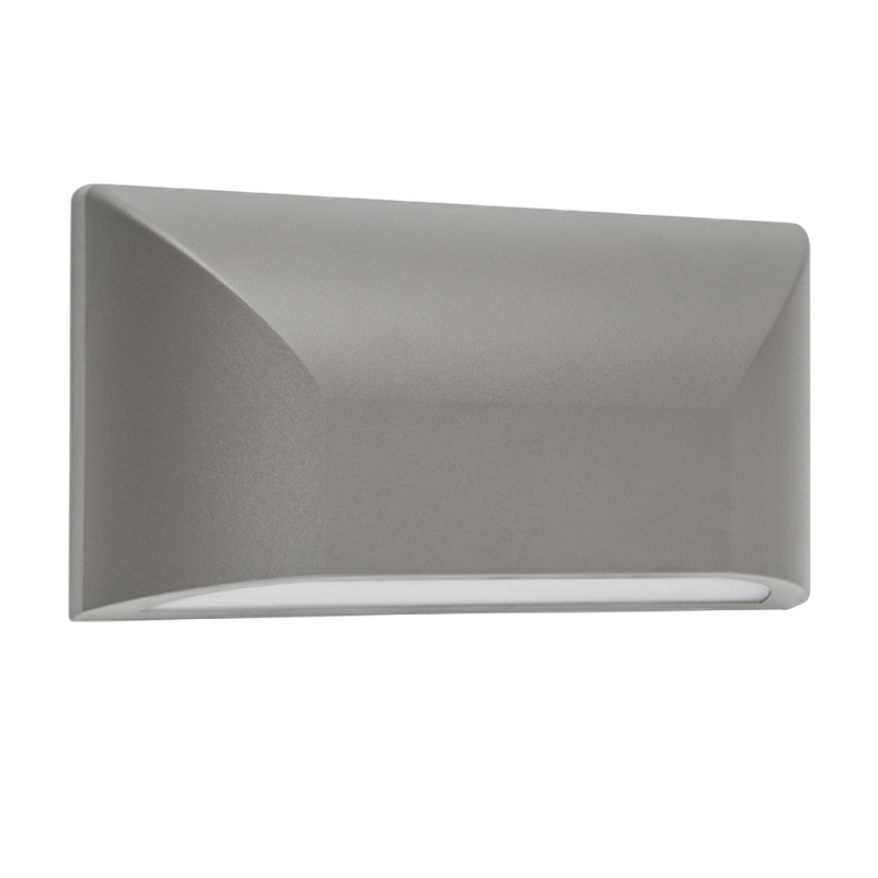 Lampa LED de perete exterior 6W Lumina Naturala IP65 Gri,Gri Inchis sau Alb