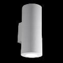 Corp de iluminat fatada 2X3,5W Lumina Naturala IP55 Gri