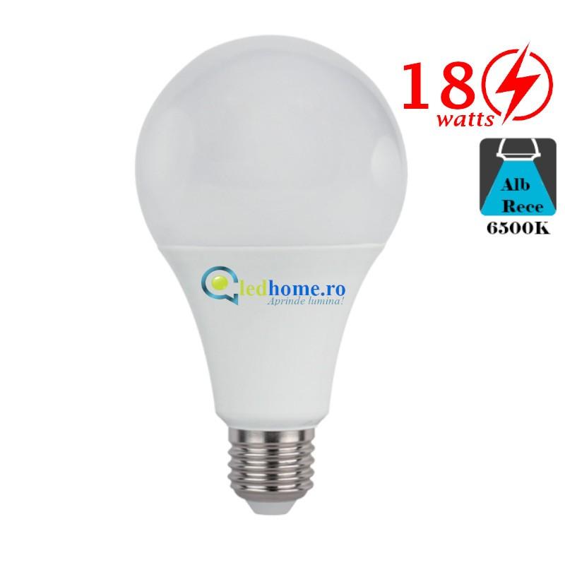 Bec LED 18W E27 Alb Rece