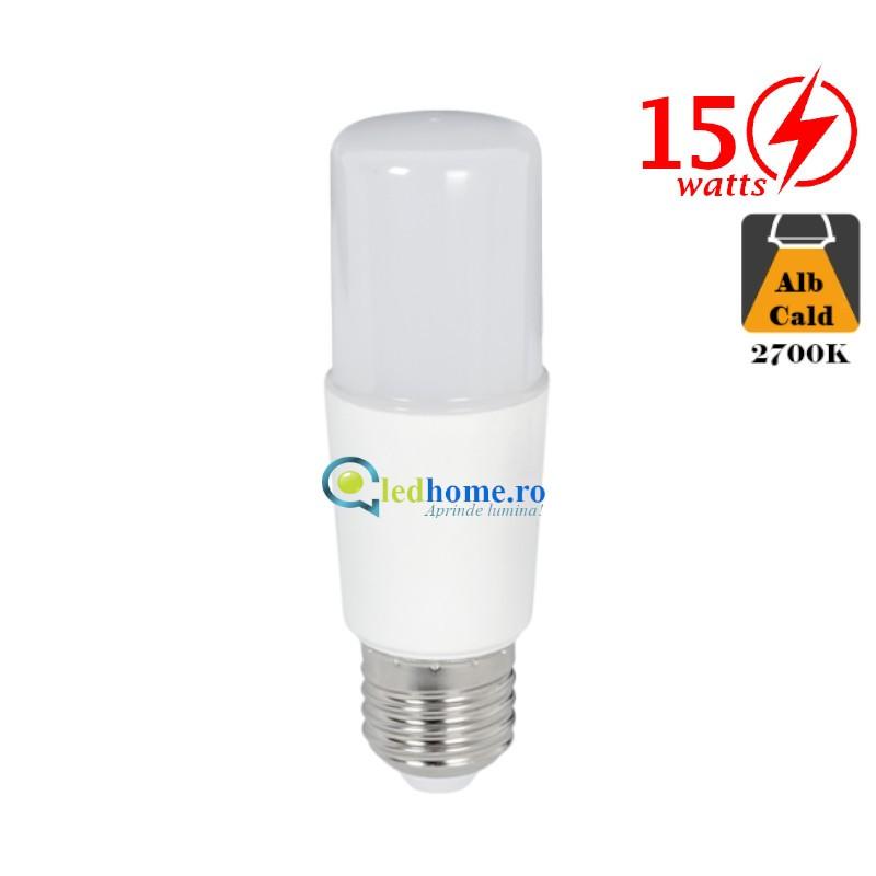 BEC LED STICK T37 15W E27 Alb Cald