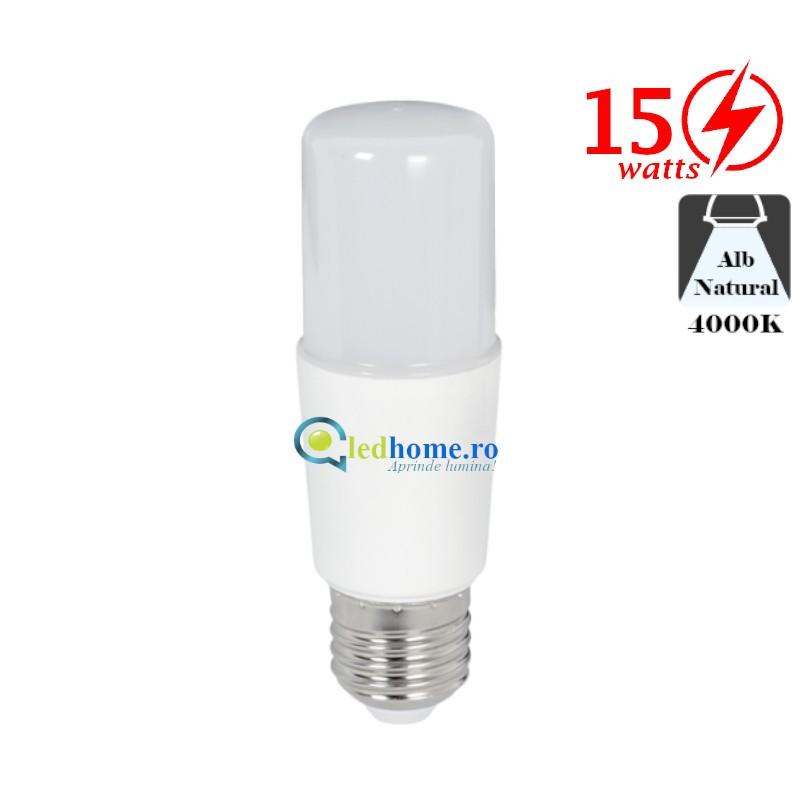 BEC LED STICK T37 15W E27 Alb Neutru