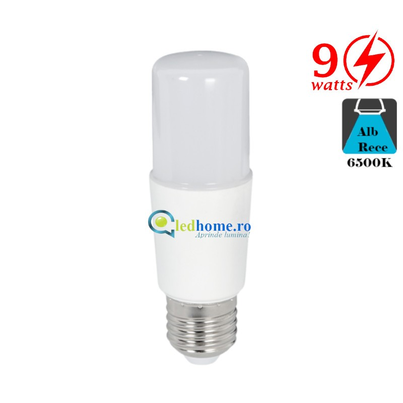 BEC LED STICK T37 9W E27 Alb Rece