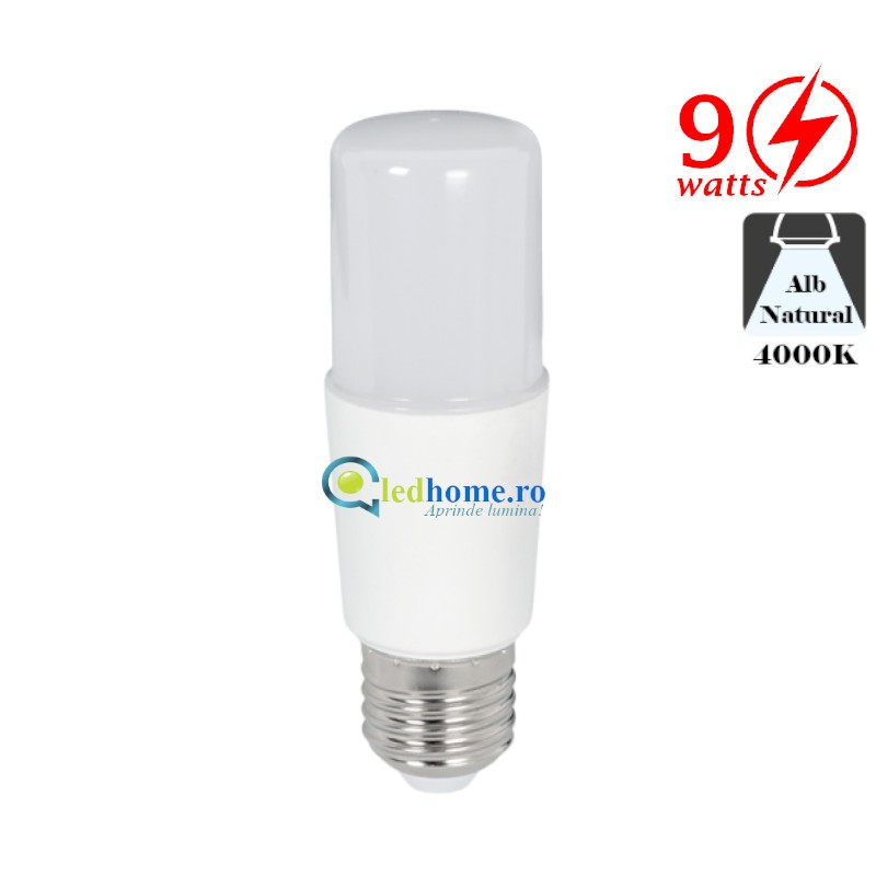 BEC LED STICK T37 9W E27 Alb Neutru