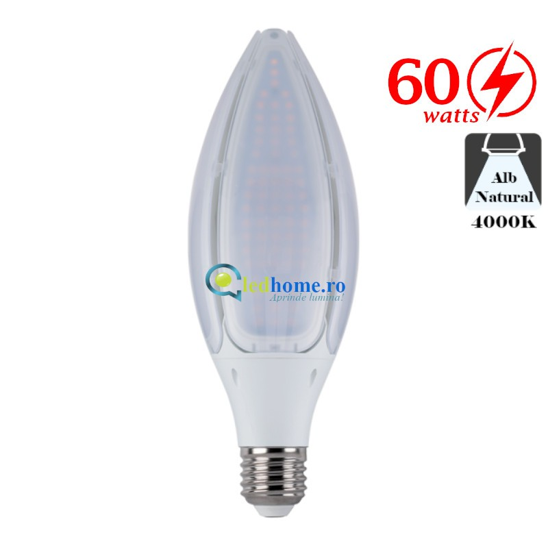 BEC Lampa LED Stradala 60W Alb Natural