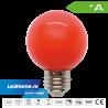 Bec LED tip Glob 3W E27 Rosu