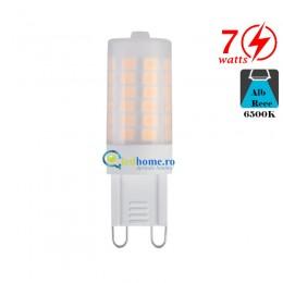 Bec LED G9 7W G9 Alb Rece