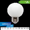 Bec LED tip Glob 3W E27 Alb Rece