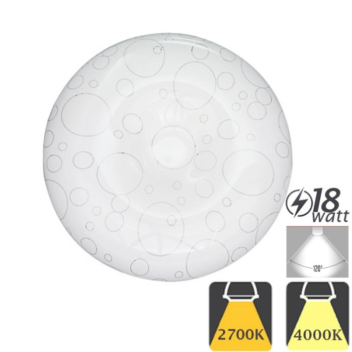 Plafoniera LED de Tavan 18W Moderna