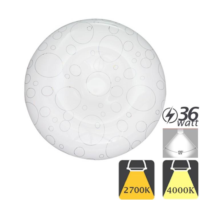 Aplica cu LED de Tavan 36W Moderna