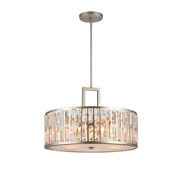 Lustra Cristal Janet 4XE27 SILVER