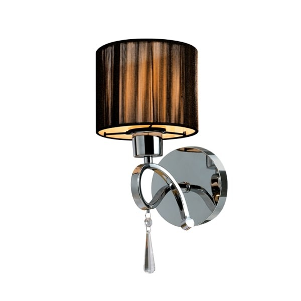 Lampa de perete Lilly 1XE27 Crom