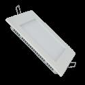 Panou LED Patrat 24W 4000K Montaj incastrat