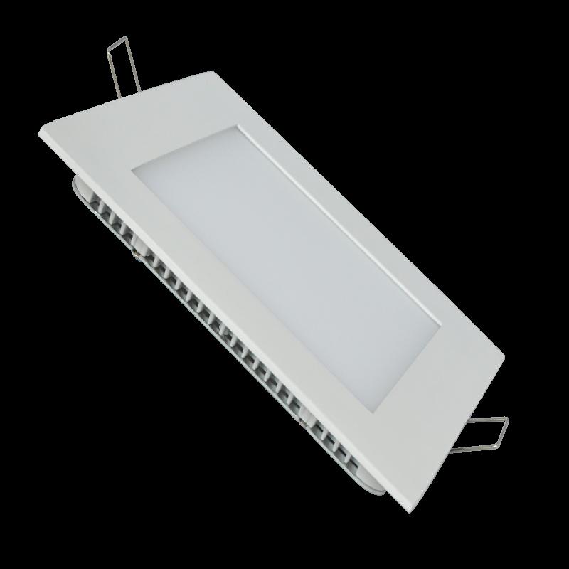 Spot LED Patrat 18W 4000K Incastrat in tavan