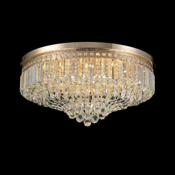 Lustra Candelabru Cristal 18XE27 GOLD