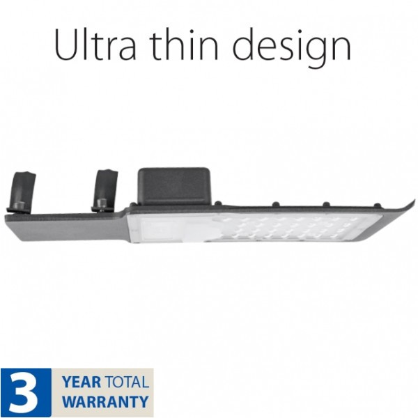 Lampa Stradala LED 100W Lumina Rece