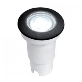 Spot Incastrat exterior 1.7W Lumina Neutra IP67 Negru
