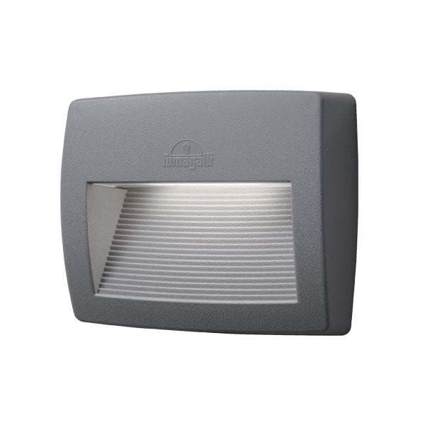 Spot pentru scari exterioare 8.5W Lumina Neutra IP55 Gri