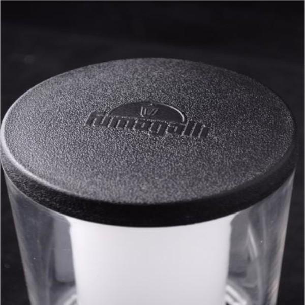 Stalp Iluminat Exterior LED 3.5W Lumina Neutra IP55 80 cm Negru